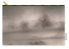 Carry-all Pouch featuring the photograph Alone In The Storm by Gary Slawsky