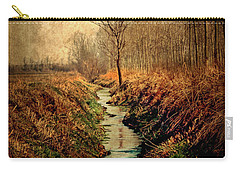 Along The Canal Carry-all Pouch
