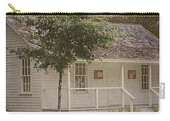 Carry-all Pouch featuring the photograph Along The Country Road by Judy Hall-Folde