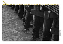 Along The Pier Carry-all Pouch by Barbara Bardzik