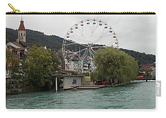 Along The River In Thun Carry-all Pouch