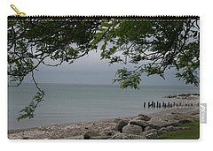 Carry-all Pouch featuring the photograph Along The Shore by Kay Novy