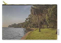 Carry-all Pouch featuring the photograph Along The Wall by Jane Luxton