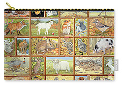 Alphabetical Animals Carry-all Pouch