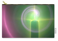 Carry-all Pouch featuring the digital art Altar by Svetlana Nikolova