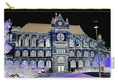 Altered Image Of Saint Eustache In Paris France Carry-all Pouch by Richard Rosenshein