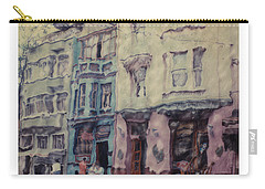 Altered Polaroid - Kybele Hotel 1 Carry-all Pouch by Wally Hampton