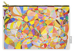 Carry-all Pouch featuring the painting Alternate Realities by Stormm Bradshaw