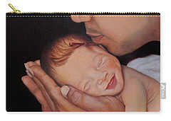 Always In His Heart And In His Hands Carry-all Pouch by Marlene Book