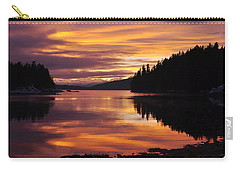 Amalga Harbor Sunset Carry-all Pouch