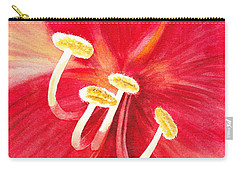 Amaryllis Carry-all Pouches