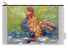 Amazed Rooster Carry-all Pouch