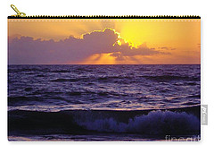 Amazing - Florida - Sunrise Carry-all Pouch by D Hackett