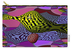 Mandelbrot Maze Carry-all Pouch