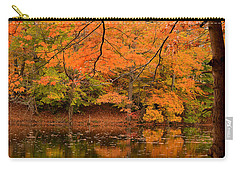 Amber Afternoon Carry-all Pouch by Lourry Legarde
