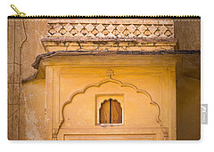 Amber Fort Birdhouse Carry-all Pouch by Inge Johnsson
