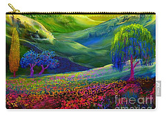 Wildflower Meadows, Amber Skies Carry-all Pouch