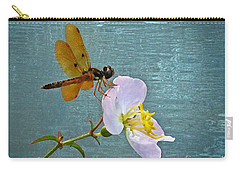 Amberwing And Meadowbeauty Carry-all Pouch