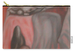 Carry-all Pouch featuring the painting Ambiguous by Thomasina Durkay