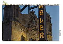 Ambler Theater Marquee Carry-all Pouch by Photographic Arts And Design Studio