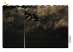 Carry-all Pouch featuring the photograph America....... by Jessica Shelton