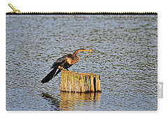 American Anhinga Angler Carry-all Pouch by Al Powell Photography USA