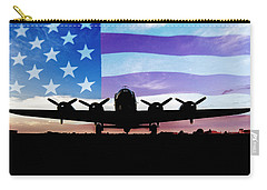 American B-17 Flying Fortress Carry-all Pouch by Terry DeLuco