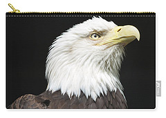 American Bald Eagle Profile Carry-all Pouch