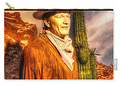 American Cinema Icons - The Duke Carry-all Pouch