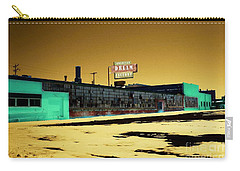 Carry-all Pouch featuring the photograph American Dream Factory by Desiree Paquette