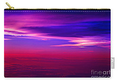 Carry-all Pouch featuring the photograph American Sky by Adam Olsen