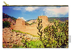 Carry-all Pouch featuring the photograph American Southwest by Desiree Paquette