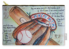 Americas Pastime II Carry-all Pouch