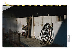 Amish Buggy Wheel Carry-all Pouch