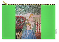 Amish Girls Carry-all Pouch by Kathy Marrs Chandler