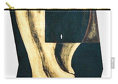 Carry-all Pouch featuring the painting Amnesia by Fei A