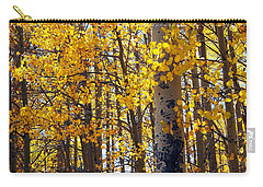Among The Aspen Trees In Fall Carry-all Pouch