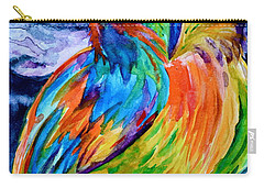 Ampersand Owl Carry-all Pouch by Beverley Harper Tinsley