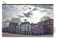 Carry-all Pouch featuring the photograph Amsterdam Bridges by Frans Blok
