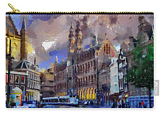 Amsterdam Daily Life Carry-all Pouch