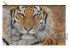Amur Tiger Magnificence Carry-all Pouch