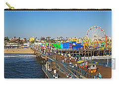Amusement Park, Santa Monica Pier Carry-all Pouch