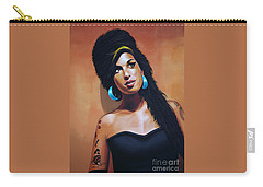 Amy Winehouse Carry-all Pouch by Paul Meijering