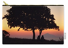 Carry-all Pouch featuring the photograph An African Sunset by Vicki Spindler