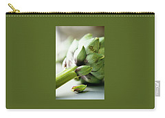 An Artichoke Carry-all Pouch by Romulo Yanes