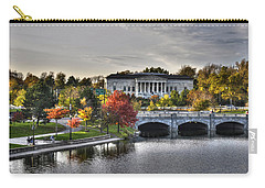 An Autumn Day At Hoyt Lake...dusk Oct2014 Carry-all Pouch by Michael Frank Jr