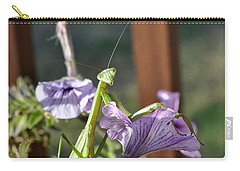 Carry-all Pouch featuring the photograph An Autumn Surprise by Verana Stark
