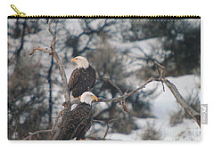 An Eagle Pair  Carry-all Pouch