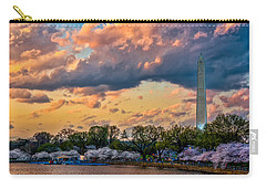 An Evening In Dc Carry-all Pouch by Christopher Holmes