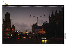 Carry-all Pouch featuring the photograph Mumbai by Salman Ravish